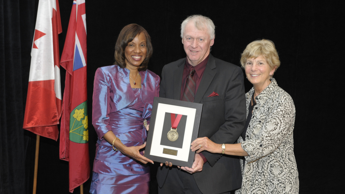 Cheers to Gary Crossley, recipient of the Syl Apps Volunteer Achievement Award